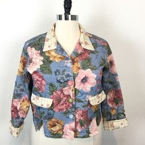 Vintage Tapestry Made in the USA Oversized Jacket